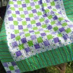 Green & Purple Child's Quilt