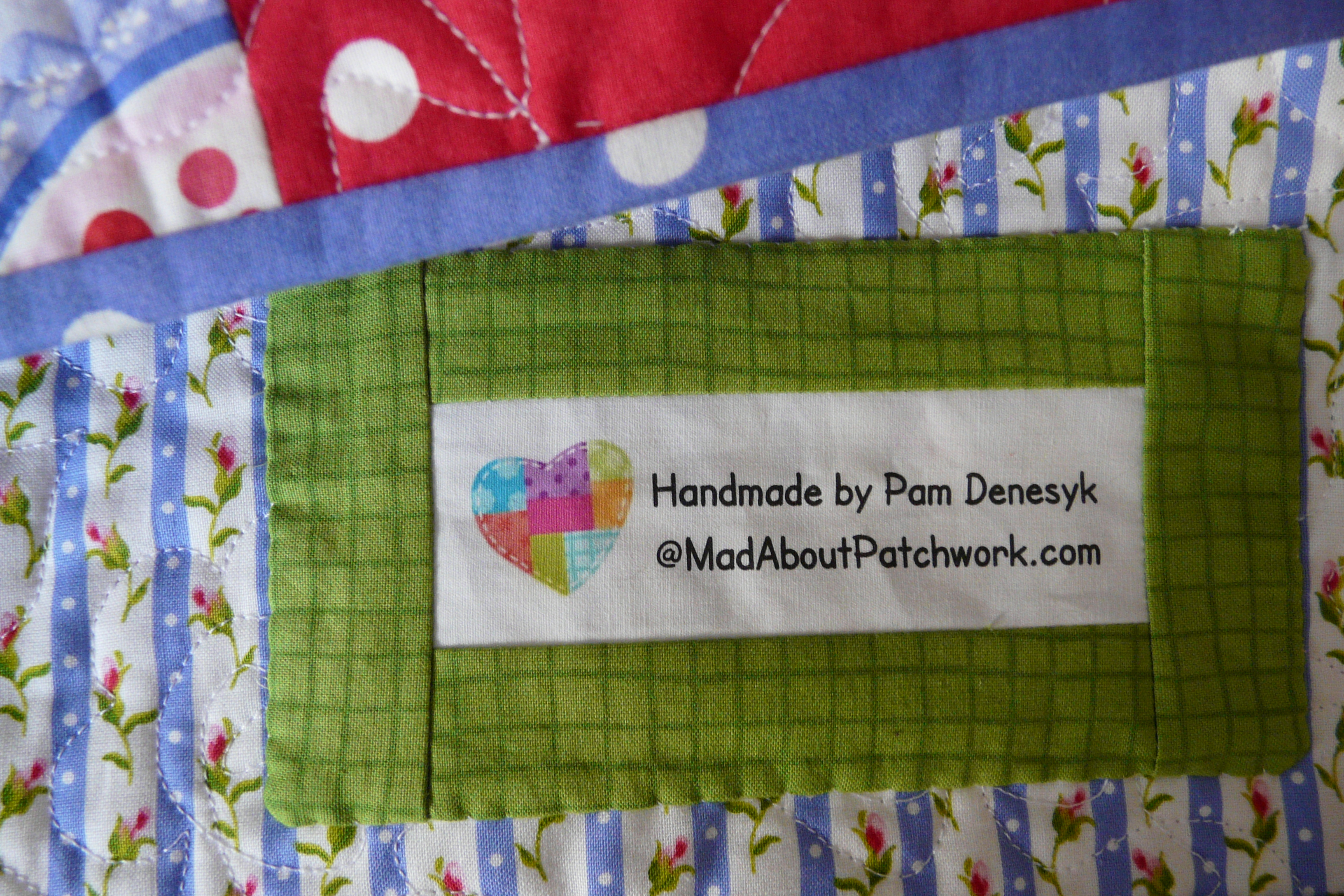 This and that | Mad About Patchwork : handmade quilt labels - Adamdwight.com