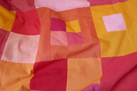 Busy Bee Quilt Designs Hip To Be Square : Feature Fabric Shot Cotton Mad About Patchwork